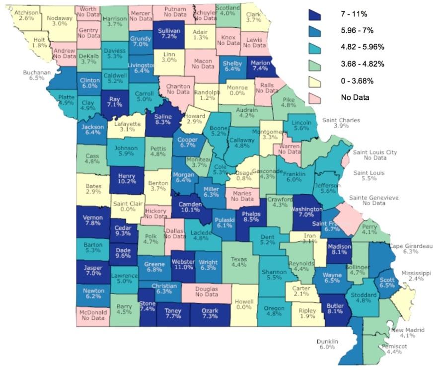 Suicide Attempt Map 2016